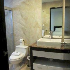 Отель Suites Masliah Мексика, Мехико - отзывы, цены и фото номеров - забронировать отель Suites Masliah онлайн ванная