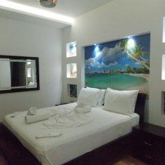 Отель Oskar Албания, Саранда - отзывы, цены и фото номеров - забронировать отель Oskar онлайн комната для гостей фото 3