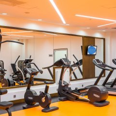 Гостиница Radisson Blu Челябинск фитнесс-зал фото 2