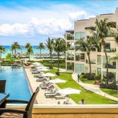 The Elements Oceanfront & Beachside Condo Hotel Плая-дель-Кармен приотельная территория