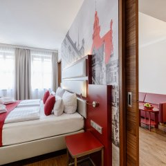 Отель Amedia Plaza Dresden Германия, Дрезден - 2 отзыва об отеле, цены и фото номеров - забронировать отель Amedia Plaza Dresden онлайн комната для гостей фото 2