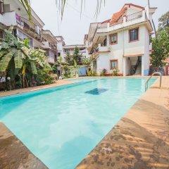 Отель OYO 12423 Home Pool View 1BHK Candolim Гоа бассейн фото 2