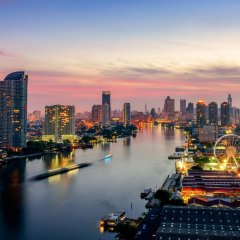 Отель Como Metropolitan Бангкок приотельная территория фото 2