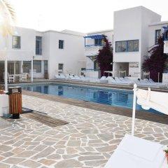 Отель Tasmaria Aparthotel Пафос бассейн