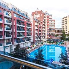 Admiral Plaza Hotel Солнечный берег балкон