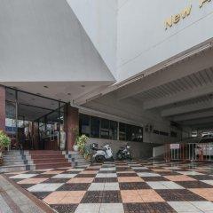 Апартаменты New APG Apartments Бангкок парковка