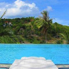 Отель Koh Tao Toscana Таиланд, Остров Тау - отзывы, цены и фото номеров - забронировать отель Koh Tao Toscana онлайн бассейн