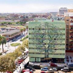 Отель Aura Park Fira Barcelona городской автобус
