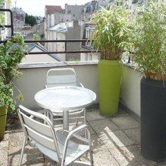 Отель le 55 Montparnasse Hôtel Париж балкон