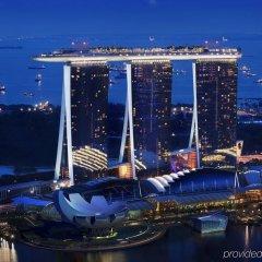 Отель Marina Bay Sands бассейн