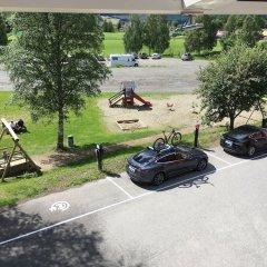 Апартаменты Birkebeineren Apartments парковка