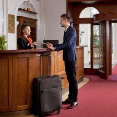 Отель Imperial Spa & Kurhotel Чехия, Франтишкови-Лазне - отзывы, цены и фото номеров - забронировать отель Imperial Spa & Kurhotel онлайн интерьер отеля фото 3