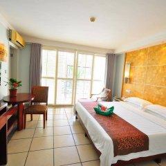 Отель Palm Beach Resort&Spa Sanya комната для гостей фото 2