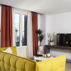Апартаменты Cosmo Apartments Passeig de Gràcia Барселона комната для гостей