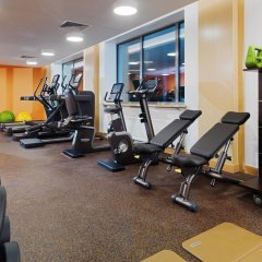 Гостиница Minsk Marriott фитнесс-зал фото 3