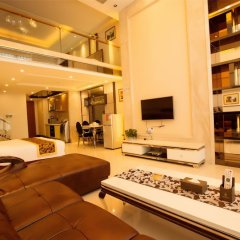 Апартаменты Hakka International Apartment Beijing Rd комната для гостей фото 5