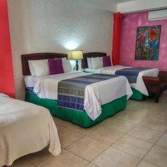 Hotel Camino Maya Ciudad Blanca комната для гостей фото 5