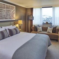 Отель Intercontinental Edinburgh the George 5* Номер Делюкс с двуспальной кроватью
