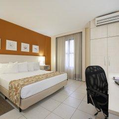 Отель Comfort Inn & Suites Ribeirão Preto Бразилия, Рибейран-Прету - отзывы, цены и фото номеров - забронировать отель Comfort Inn & Suites Ribeirão Preto онлайн комната для гостей фото 5