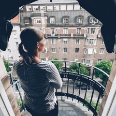 Отель Crystal Plaza Hotel Швеция, Стокгольм - 13 отзывов об отеле, цены и фото номеров - забронировать отель Crystal Plaza Hotel онлайн балкон