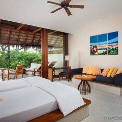 Отель Conrad Maldives Rangali Island Мальдивы, Хувахенду - 8 отзывов об отеле, цены и фото номеров - забронировать отель Conrad Maldives Rangali Island онлайн комната для гостей фото 2