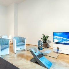 Апартаменты Slovansky Dum Boutique Apartments Прага интерьер отеля фото 2