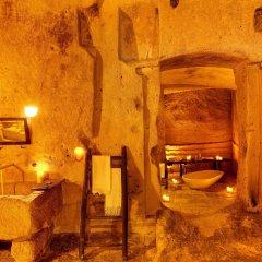 Отель Sextantio Le Grotte Della Civita Матера ванная
