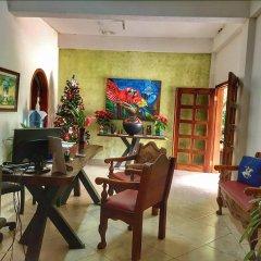 Отель Camino Maya Ciudad Blanca Гондурас, Копан-Руинас - отзывы, цены и фото номеров - забронировать отель Camino Maya Ciudad Blanca онлайн интерьер отеля фото 3