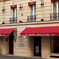 Отель Apollinaire Франция, Париж - отзывы, цены и фото номеров - забронировать отель Apollinaire онлайн вид на фасад