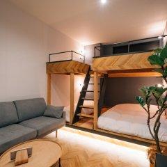 mizuka Daimyo 3 unmanned hotel Фукуока комната для гостей фото 5