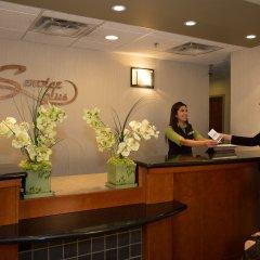 Отель Service Plus Inns & Suites Calgary Канада, Калгари - отзывы, цены и фото номеров - забронировать отель Service Plus Inns & Suites Calgary онлайн интерьер отеля фото 2