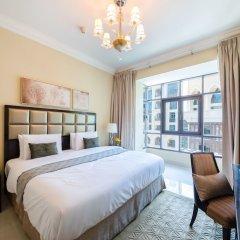 Отель Maison Privee - Burj Khalifa Community Дубай комната для гостей фото 2