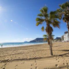 Отель Calpemar пляж