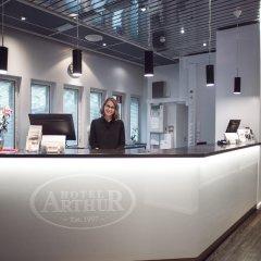 Arthur Hotel интерьер отеля