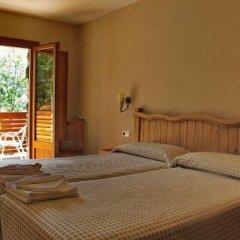 Отель Hostal Les Roquetes Керальбс комната для гостей фото 5
