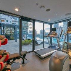 Отель Oakwood Studios Singapore фитнесс-зал фото 4