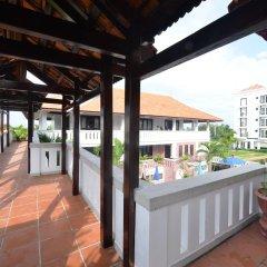 Отель TTC Hotel Premium Hoi An Вьетнам, Хойан - отзывы, цены и фото номеров - забронировать отель TTC Hotel Premium Hoi An онлайн балкон