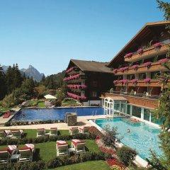Отель ERMITAGE Wellness- & Spa-Hotel Швейцария, Шёнрид - отзывы, цены и фото номеров - забронировать отель ERMITAGE Wellness- & Spa-Hotel онлайн бассейн