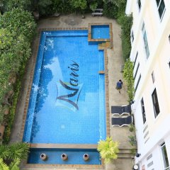 Отель Naris Art Паттайя бассейн фото 2
