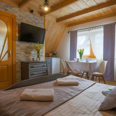 Отель Willa Góralsko Riwiera Польша, Закопане - отзывы, цены и фото номеров - забронировать отель Willa Góralsko Riwiera онлайн комната для гостей фото 5