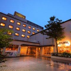 Green Hotel Yes Ohmi-hachiman Омихатиман вид на фасад