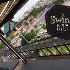 Отель Chingcha Bangkok Бангкок гостиничный бар