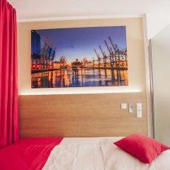 Отель Luckys Inn GmbH Германия, Гамбург - отзывы, цены и фото номеров - забронировать отель Luckys Inn GmbH онлайн комната для гостей фото 3