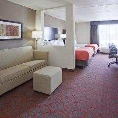 Отель Holiday Inn Express & Suites Bloomington - MPLS Arpt Area W, an IHG Hotel США, Блумингтон - отзывы, цены и фото номеров - забронировать отель Holiday Inn Express & Suites Bloomington - MPLS Arpt Area W, an IHG Hotel онлайн комната для гостей фото 5