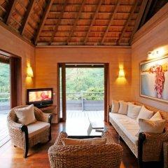 Отель Tiahura Dream Lodge Французская Полинезия, Муреа - отзывы, цены и фото номеров - забронировать отель Tiahura Dream Lodge онлайн комната для гостей фото 3