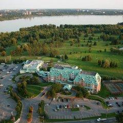 Отель Doubletree By Hilton Gatineau-Ottawa Гатино приотельная территория
