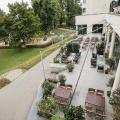 Отель Arcotel Kaiserwasser Вена балкон