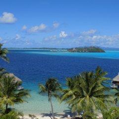 Отель Maitai Polynesia Французская Полинезия, Бора-Бора - отзывы, цены и фото номеров - забронировать отель Maitai Polynesia онлайн пляж