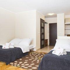 Отель Hosapartments City Center Польша, Варшава - 2 отзыва об отеле, цены и фото номеров - забронировать отель Hosapartments City Center онлайн комната для гостей фото 11