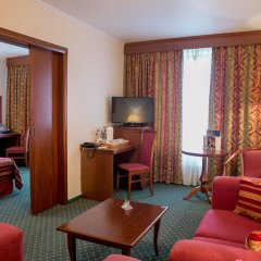 Гостиница Корстон, Москва 4* Улучшенный люкс с разными типами кроватей фото 2